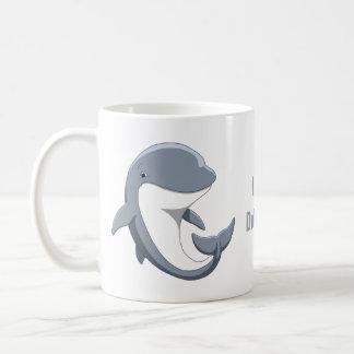 Mug J'aime le Bottlenose mignon de dauphins