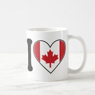 Mug J'aime le Canada