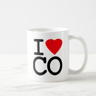 Mug J'aime le coeur le Colorado