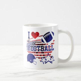 Mug J'aime le football (le football américain)