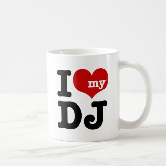 Mug J'aime le mon DJ