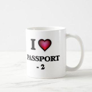 Mug J'aime le passeport - 2