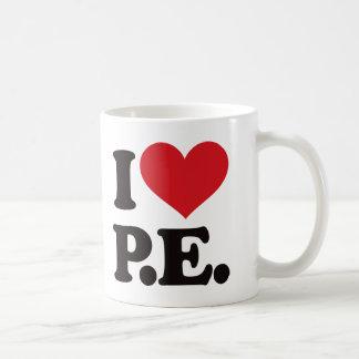 Mug J'aime l'éducation physique !