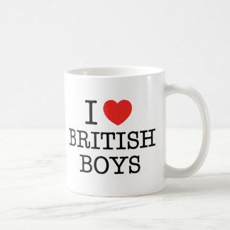 Mug J'aime les garçons britanniques
