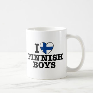 Mug J'aime les garçons finlandais
