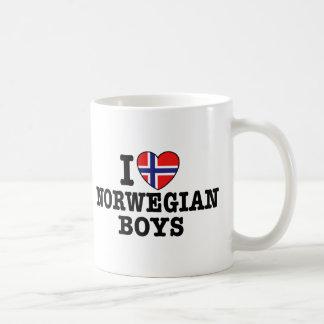 Mug J'aime les garçons norvégiens