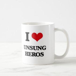 Mug J'aime les héros méconnus
