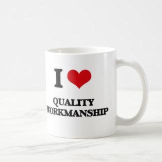 Mug J'aime l'exécution de qualité
