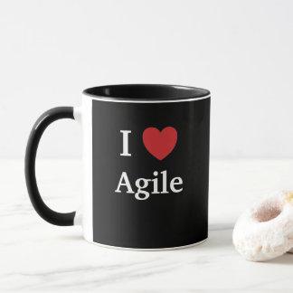 Mug J'aime l'idée agile de cadeau de chef de projet de