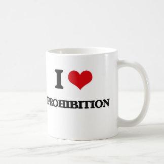 Mug J'aime l'interdiction