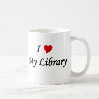 Mug J'aime ma bibliothèque