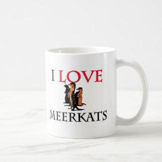 Mug J'aime Meerkats