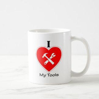Mug J'aime mes outils
