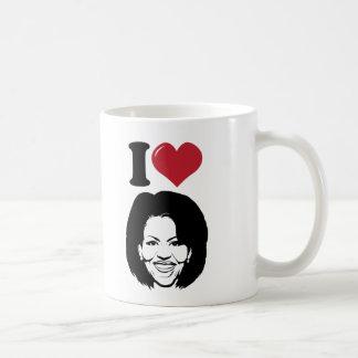 Mug J'aime Michelle Obama