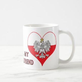 Mug J'aime mon amie polonaise