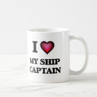 Mug J'aime mon capitaine de bateau