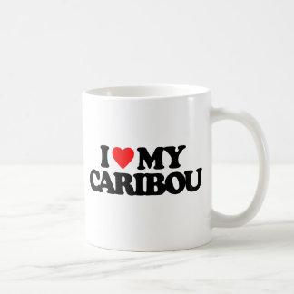 MUG J'AIME MON CARIBOU