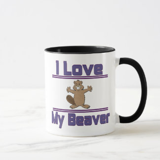 Mug J'aime mon castor
