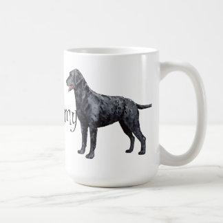 Mug J'aime mon chien d'arrêt Bouclé-Enduit