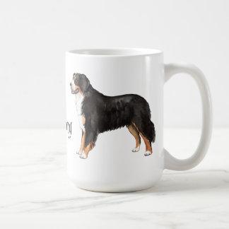 Mug J'aime mon chien de montagne de Bernese