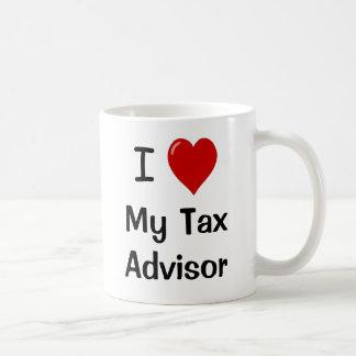 Mug J'aime mon conseiller en fiscalité/m'aime