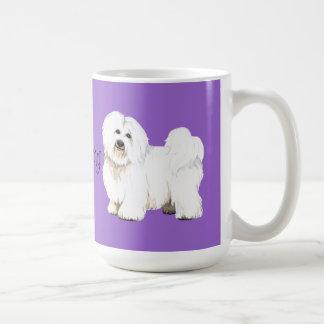 Mug J'aime mon coton de Tulear