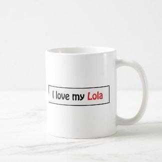 Mug J'aime mon lola
