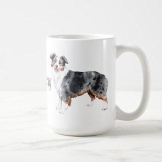 Mug J'aime mon mini berger américain