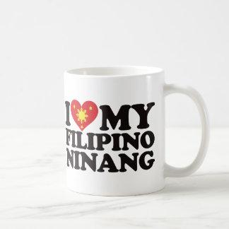 Mug J'aime mon Ninang philippin