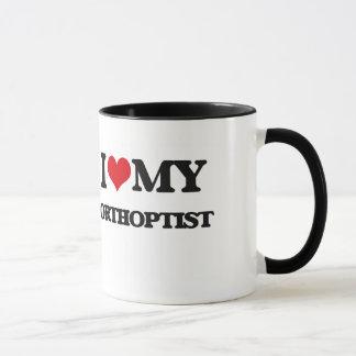 Mug J'aime mon Orthoptist