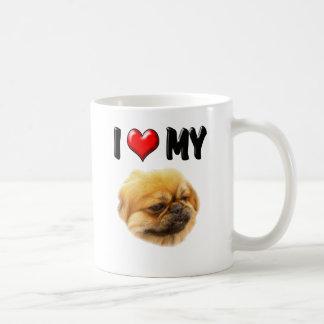 Mug J'aime mon Pekingese