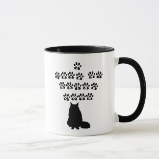 Mug J'aime mon ragondin du Maine--Texte noir