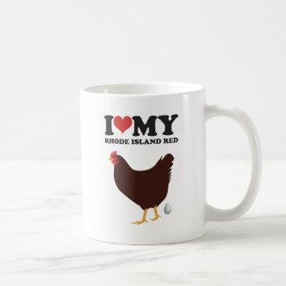 Mug J'aime mon rouge d'île de Rhode