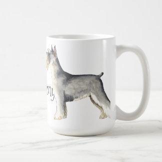 Mug J'aime mon Schnauzer miniature