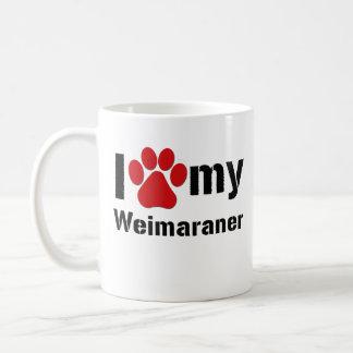 Mug J'aime mon Weimaraner