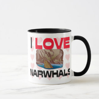 Mug J'aime Narwhals