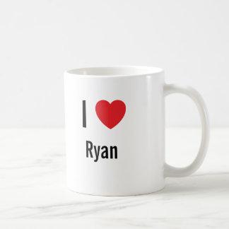 Mug J'aime Ryan