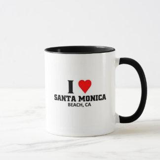 Mug J'aime Santa Monica