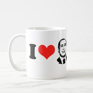 Mug J'aime Silvio Berlusconi