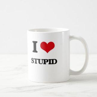 Mug J'aime stupide