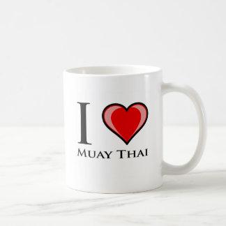 Mug J'aime thaïlandais de Muay
