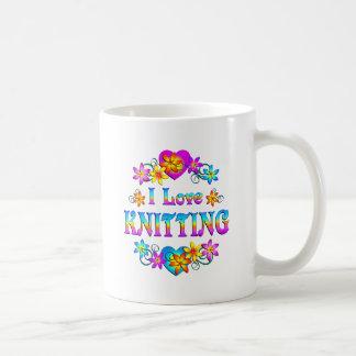 Mug J'aime tricoter