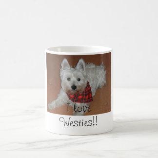 Mug J'aime Westies !