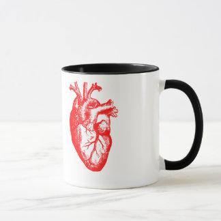 Mug J'anatomie de coeur de coeur aiment/I