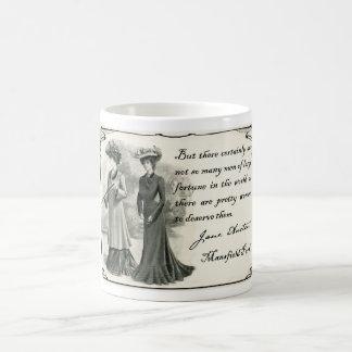 Mug Jane Austen : Jolies femmes