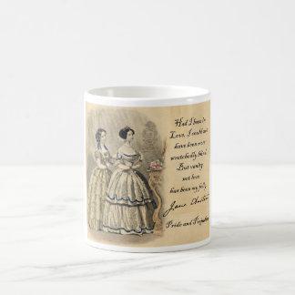Mug Jane Austen : Vanité