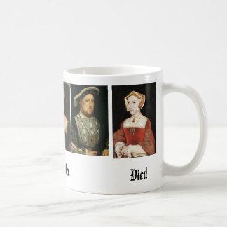 Mug Jane Seymour, Catherine d'Aragon, Anne Boleyn,…