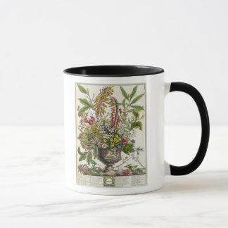 Mug Janvier, de ` douze mois de fleurs