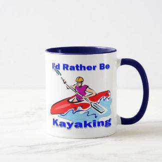 Mug J'aurais plutôt 1 ans Kayaking