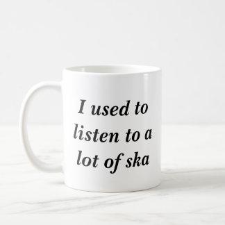 Mug J'avais l'habitude d'écouter beaucoup de ska